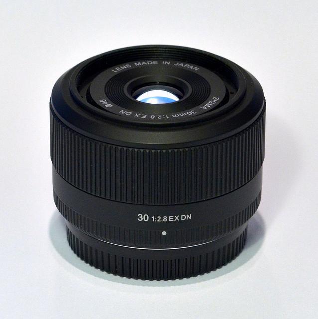 Objectif sigma 30mm