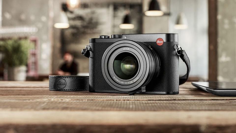 Le leica Q est un appareil photo compact de luxe
