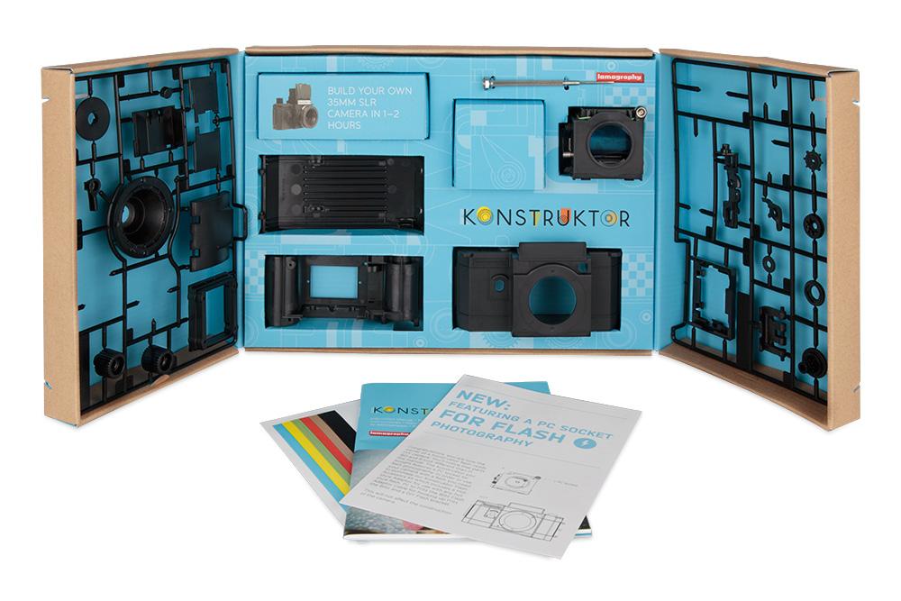 Le Konstructor F, un appareil photo argentique à fabriquer soit même